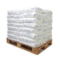 Pallet middelfijn zeezout 40 zakken