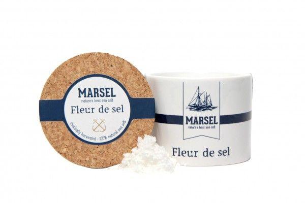 Fleur de sel 'MARSEL' in keramieken pot