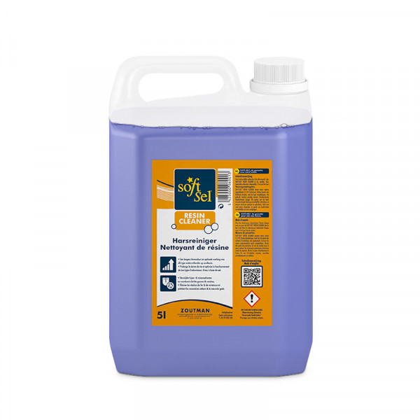 Harsreiniger SOFT-SEL Resin cleaner 5 liter