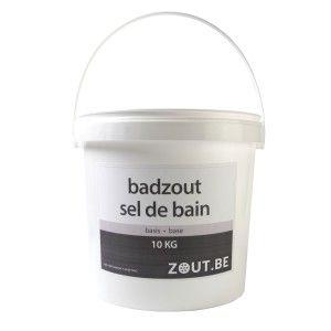 badzout geurloos kleurloos emmer 10 kg