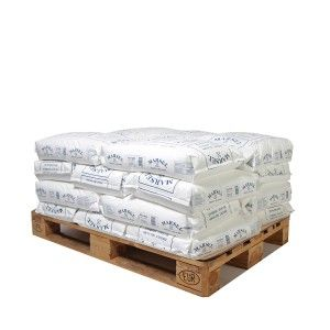 Pallet middelfijn zeezout 20 zakken