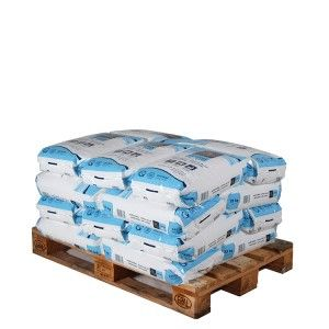 Pallet Zoutkristallen 20 zakken 25 kg
