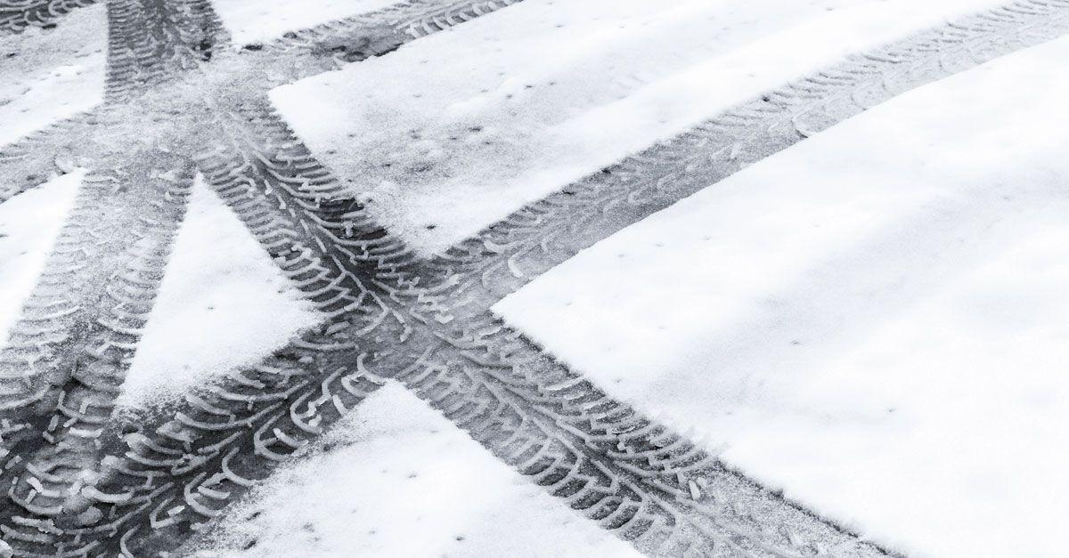 oprit sneeuwvrij